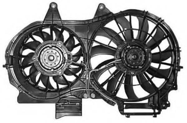 BERU LE694 Вентилятор, охлаждение двигателя