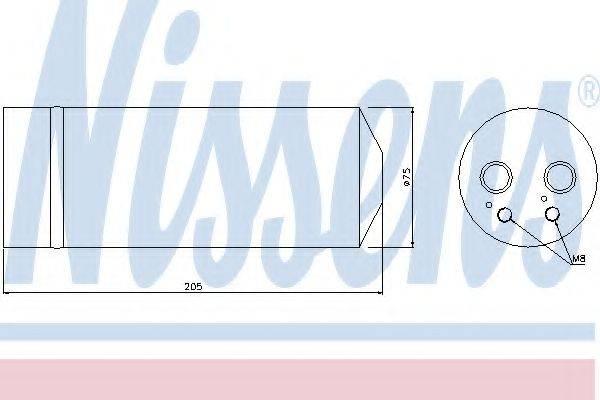 NISSENS 95314 Осушитель, кондиционер