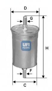 UFI 3171800 Топливный фильтр