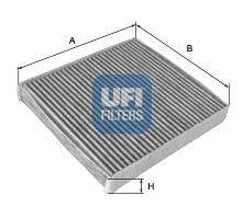 UFI 5410100 Фильтр, воздух во внутренном пространстве