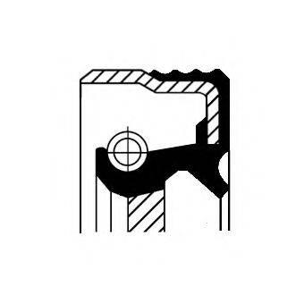 Уплотняющее кольцо, дифференциал CORTECO 01034080B