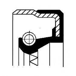 Уплотняющее кольцо, раздаточная коробка CORTECO 01035170B