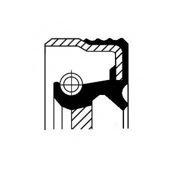 Уплотняющее кольцо, дифференциал CORTECO 01031603B