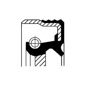 CORTECO 12012248B Уплотняющее кольцо, коленчатый вал
