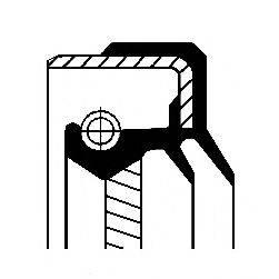 Уплотняющее кольцо, ступенчатая коробка передач CORTECO 01016882B