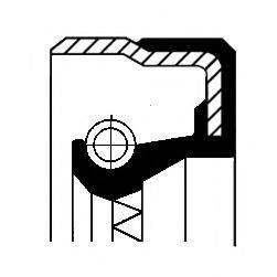 Уплотняющее кольцо, дифференциал CORTECO 01031731B