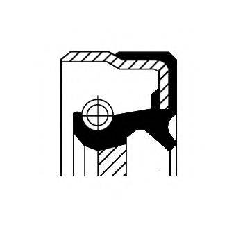 Уплотняющее кольцо, дифференциал CORTECO 01027755B