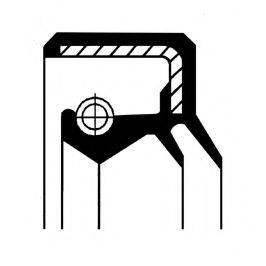 Уплотняющее кольцо вала, рулевой механизм CORTECO 01019970B