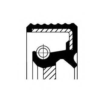 CORTECO 20026413B Уплотняющее кольцо, коленчатый вал; Уплотняющее кольцо, распределительный вал