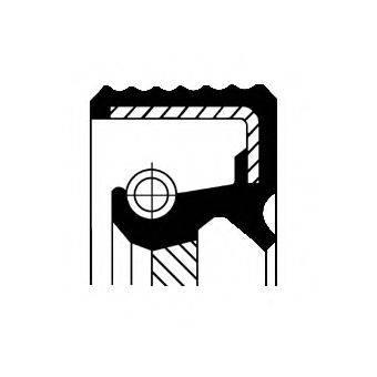 CORTECO 20034576B Уплотняющее кольцо, распределительный вал; Уплотняющее кольцо, промежуточный вал