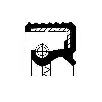 Уплотняющее кольцо, дифференциал CORTECO 01034063B