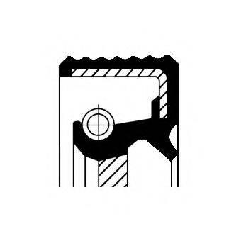 Уплотняющее кольцо, ступенчатая коробка передач CORTECO 01033852B