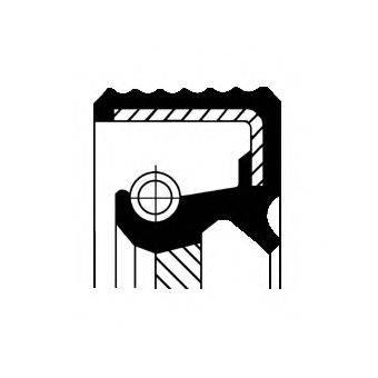 Уплотняющее кольцо, дифференциал CORTECO 01034693B