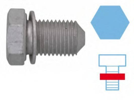 CORTECO 220125S Резьбовая пробка, маслянный поддон