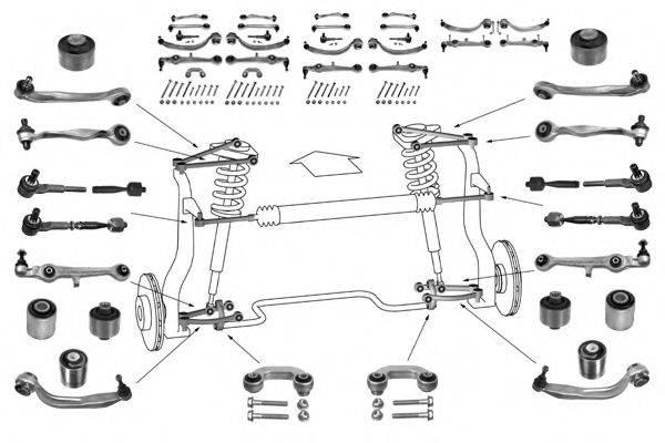MEYLE WG0473100 Рулевое управление; Подвеска колеса