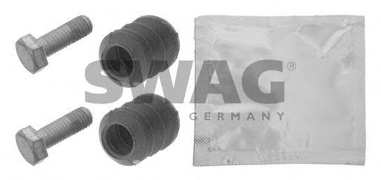 SWAG 30936050 Монтажный комплект, тормозной суппорт (экономичный тормоз)