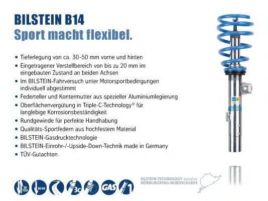 BILSTEIN BIL014346 Комплект ходовой части, пружины / амортизаторы
