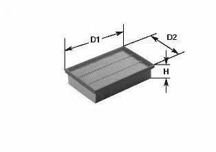 CLEAN FILTERS MA1354 Воздушный фильтр