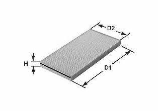 CLEAN FILTERS NC2106 Фильтр, воздух во внутренном пространстве