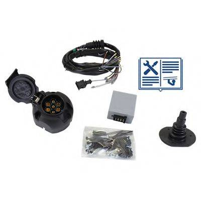 RAMEDER 107022 Комплект электрики, прицепное оборудование