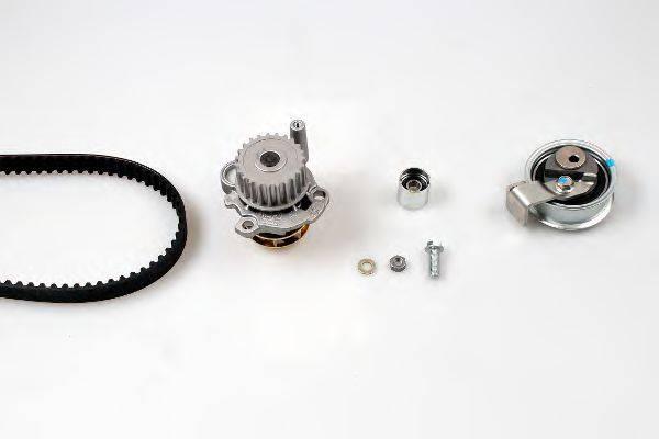 HEPU PK05475 Водяной насос + комплект зубчатого ремня