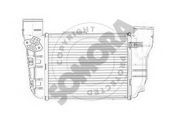SOMORA 021545DL Интеркулер