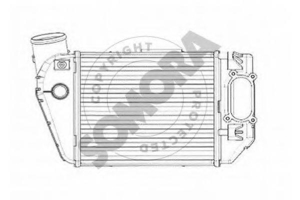SOMORA 021545DR Интеркулер