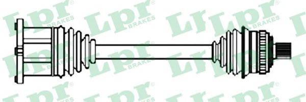 LPR DS52274 Приводной вал