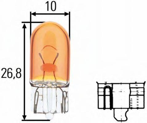 HELLA 8GP003594541 Лампа накаливания, фонарь указателя поворота; Лампа накаливания; Лампа накаливания, стояночный / габаритный огонь; Лампа накаливания, стояночный / габаритный огонь