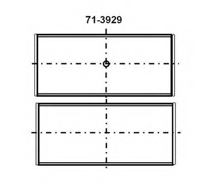 GLYCO 7139294STD Шатунный подшипник