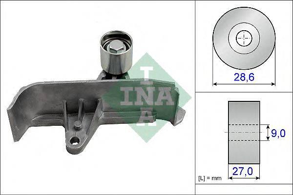 INA 532060110 Паразитный / Ведущий ролик, зубчатый ремень