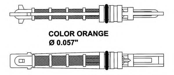 NRF 38449 Расширительный клапан, кондиционер