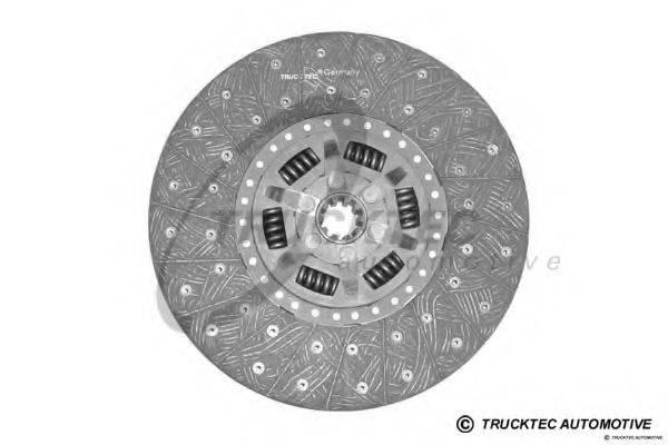 Диск сцепления TRUCKTEC AUTOMOTIVE 01.23.138