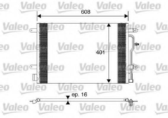 VALEO 817569 Конденсатор, кондиционер