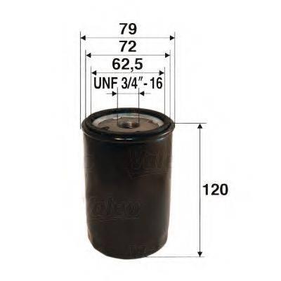 VALEO 586029 Масляный фильтр