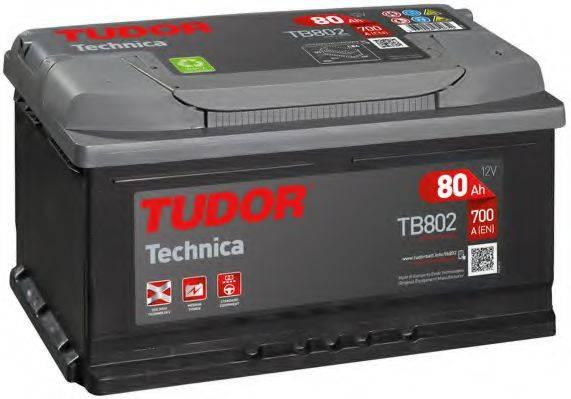 TUDOR TB802 Стартерная аккумуляторная батарея; Стартерная аккумуляторная батарея