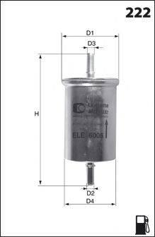 MECAFILTER E09 Топливный фильтр