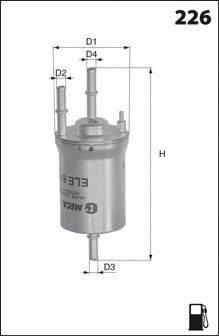 MECAFILTER ELE6113 Топливный фильтр