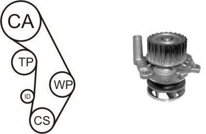 AIRTEX WPK937704 Водяной насос + комплект зубчатого ремня