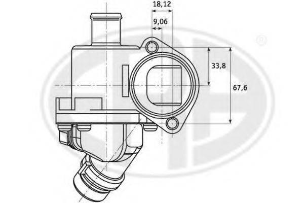 ERA 350161 Термостат, охлаждающая жидкость