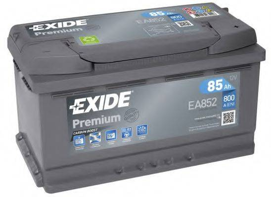 EXIDE EA852 Стартерная аккумуляторная батарея; Стартерная аккумуляторная батарея