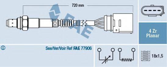 FAE 77204 Лямбда-зонд