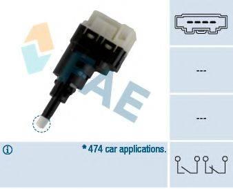 FAE 24761 Выключатель фонаря сигнала торможения