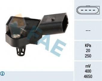 FAE 15026 Датчик, давление во впускном газопроводе