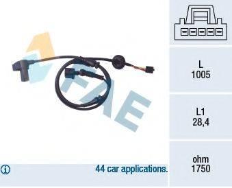 FAE 78097 Датчик, частота вращения колеса