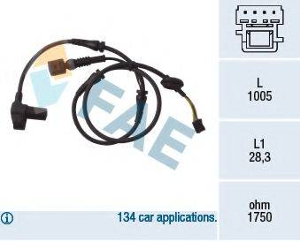 FAE 78004 Датчик, частота вращения колеса