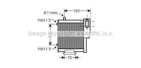 AVA QUALITY COOLING AI3265 Масляный радиатор, автоматическая коробка передач