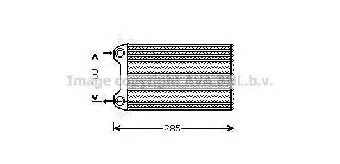 AVA QUALITY COOLING AIA6223 Теплообменник, отопление салона