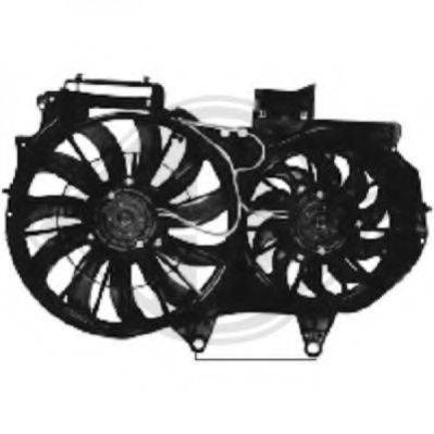 DIEDERICHS 1017101 Вентилятор, охлаждение двигателя