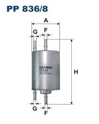 FILTRON PP8368 Топливный фильтр